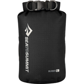Sea to Summit Big River Sac de compression étanche Kit, Large, black